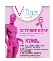 Octobre Rose à Villaz